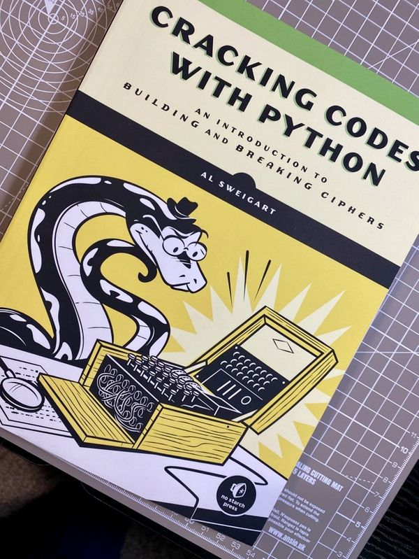 Cracking codes with Python, er Commodore- Part 1: The Reverse Cipher